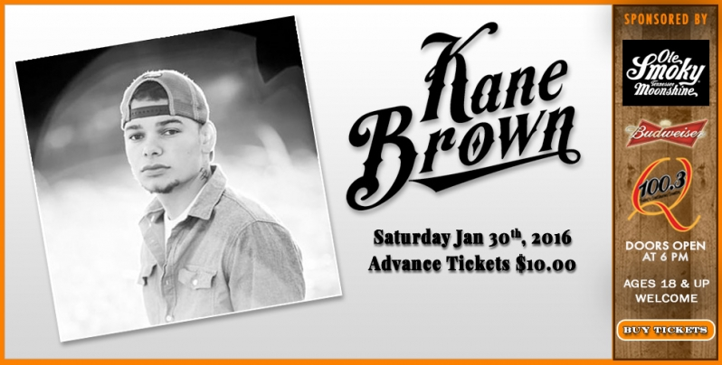 Kane Brown @ Cotton Eyed Joe - Local Event in Knoxville