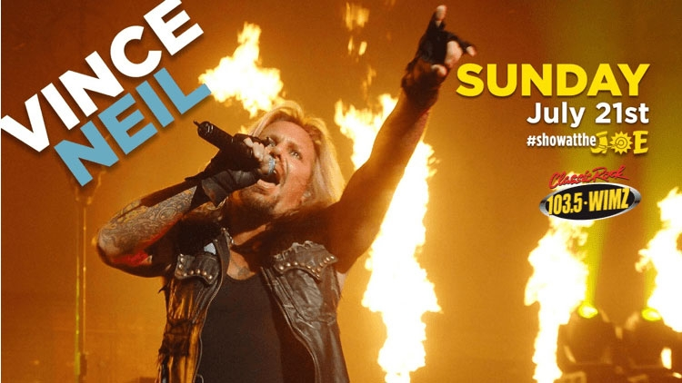 Vince Neil Of Motley Crue @ Cotton Eyed Joe - Local Event in