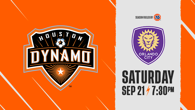 Houston Dynamo Vs Orlando City Fc Bbva Compass Stadium Local